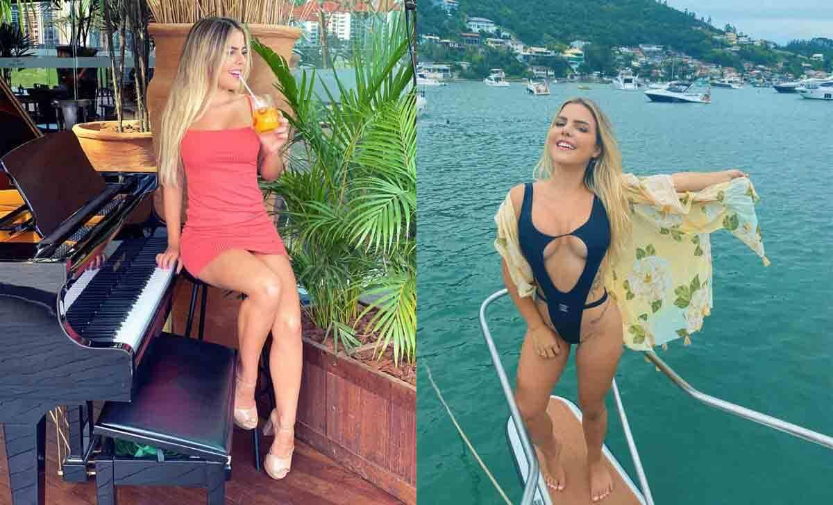 """Celebridade do Instagram, Grazi Mourão intima Neymar em SC: """"Me pega"""". Foto: Divulgação"""