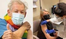 Confira os famosos que já receberam a vacina contra a Covid-19