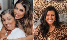 "Bella Falconi posta foto com a mãe e fãs se confundem: ""A cara da Regina Casé"""