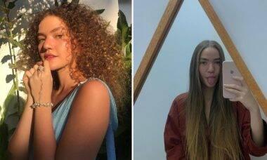 Vitória Falcão, da dupla Anavitória, aparece com os cabelos alisados