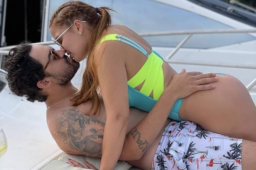 """Fernando faz declaração de amor para Maiara: """"Não vou te deixar mais escapar"""""""