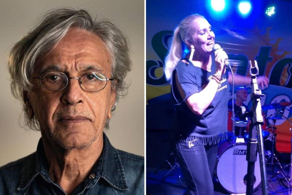 Caetano Veloso processa cantora Nayat Jordan por espalhar fake news sobre seu réveillon