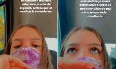 """Mel Maia fala sobre experiência de assédio com motorista de aplicativo: """"Revoltante"""""""