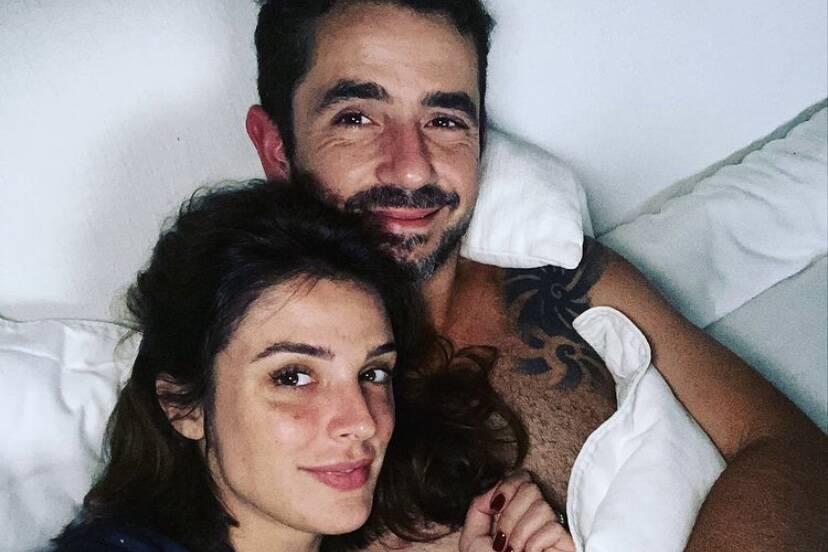 Rafa Brites revela que tomou a iniciativa com Felipe Andreoli