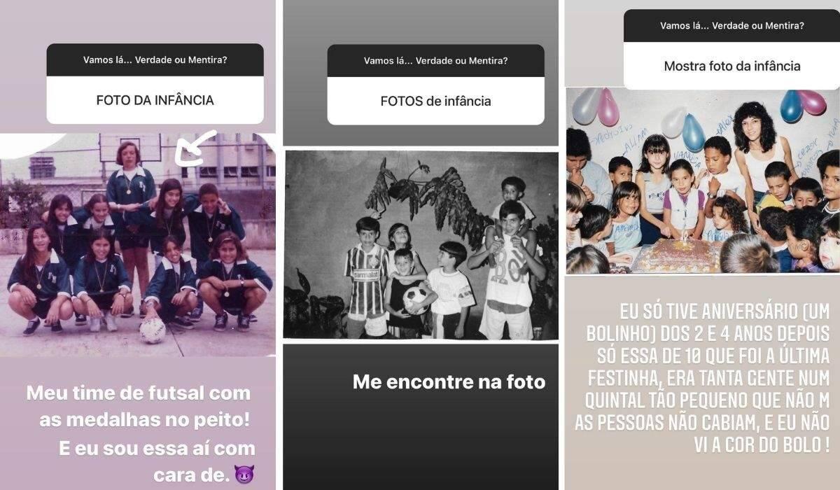 """Thaila Ayala posta cliques da infância e desafia os fãs: """"me encontre na foto"""". (Foto: Reprodução/Instagram)"""
