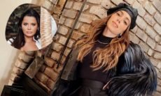 """Anitta posa em look todo preto e Maraisa baba: """"me empresta essa roupa?"""". (Foto: Reprodução/Twitter/Instagram)"""