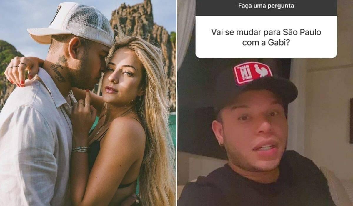 """Tierry revela que pensa em morar com Gabi Martins: """"vai esquecendo uma escova, roupa, de repente..."""""""