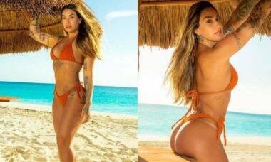 Dani Bolinha exibe as curvas em cliques do álbum de viagem a Cancún, confira!