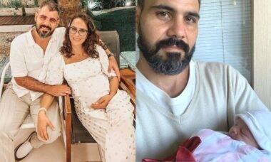"""Juliano Cazarré celebra o nascimento da filha: """"viva a vida, a vida quer viver"""""""