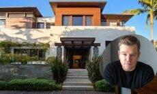 Matt Damon coloca mansão à venda por cerca de R$111 milhões! Confira as fotos