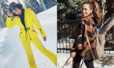 """Anitta curte neve e viagem nos EUA e fala que não existe homem no seu """"nível"""""""