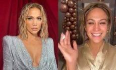Jennifer Lopez aparece de cara limpa ao posta vídeo tirando a make e surpreende os fãs