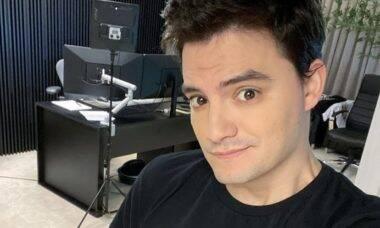 """Felipe Neto revela que a avó faz tratamento com canabidiol: """"Se sentindo muito bem"""""""