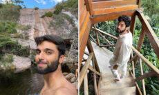 Silva reata namoro com estilista e aproveita viagem à Chapada Diamantina