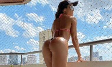 """Denise Dias faz seguro do bumbum: """"Meu patrimônio"""""""