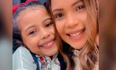 Filha da cantora Amanda Wanessa recebe alta depois de acidente de carro . Foto: Reprodução Instagram
