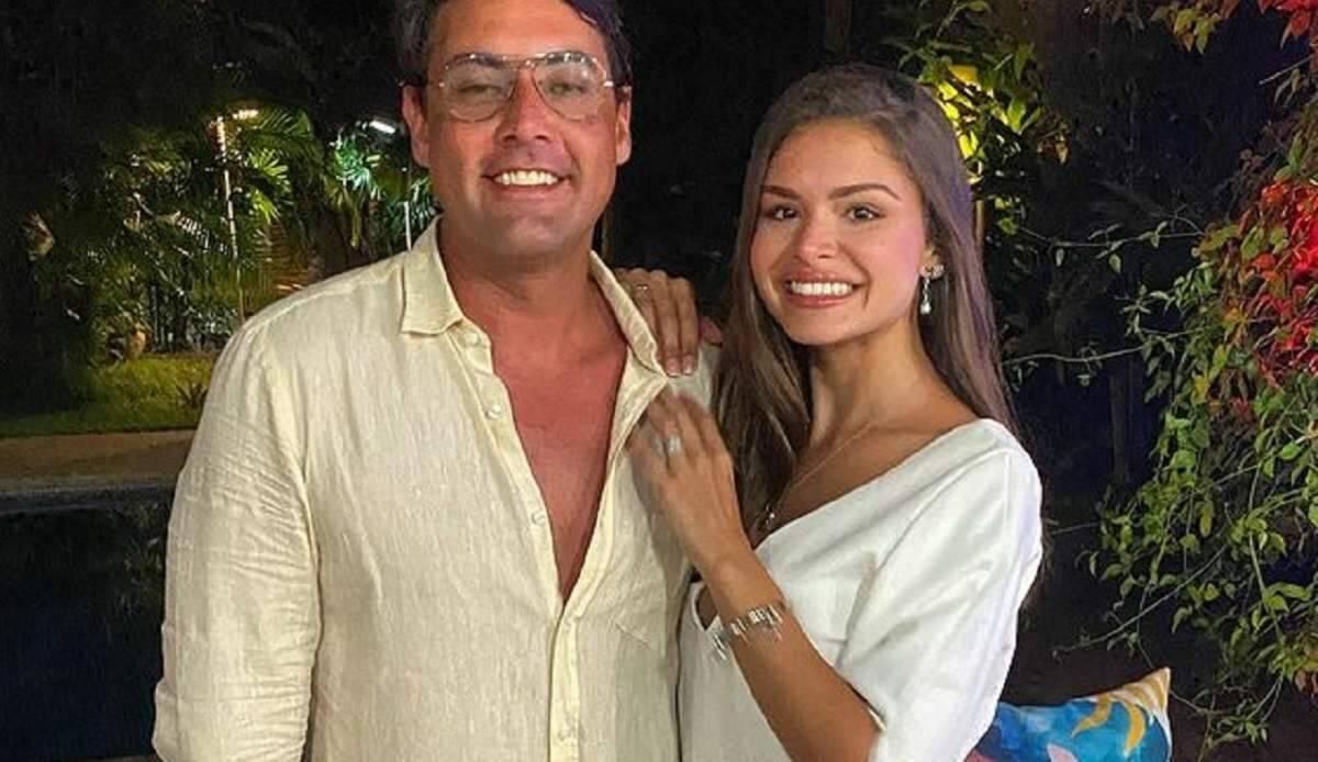 """Bruno de Luca celebra namoro com repórter do 'Faustão': """"achei que seria solteiro pra sempre"""
