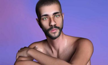 Allan Gregorio revela nova tendência do mundo da moda: modelos e looks 3D. Foto: Divulgação