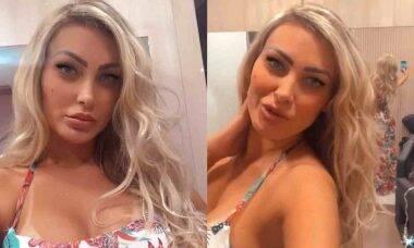 Andressa Urach posa com novo mega hair e recebe críticas: 'vigia o espírito de sensualidade'