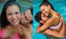"""Jakelyne posta clique curtindo piscina com Mariano e se declara: """"você me faz bem"""""""
