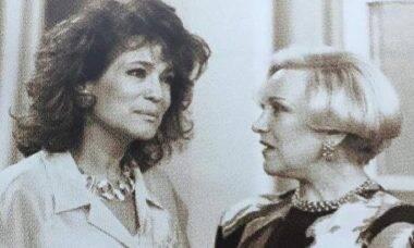 Susana Vieira posta clique raro para homenagear Nicette Bruno