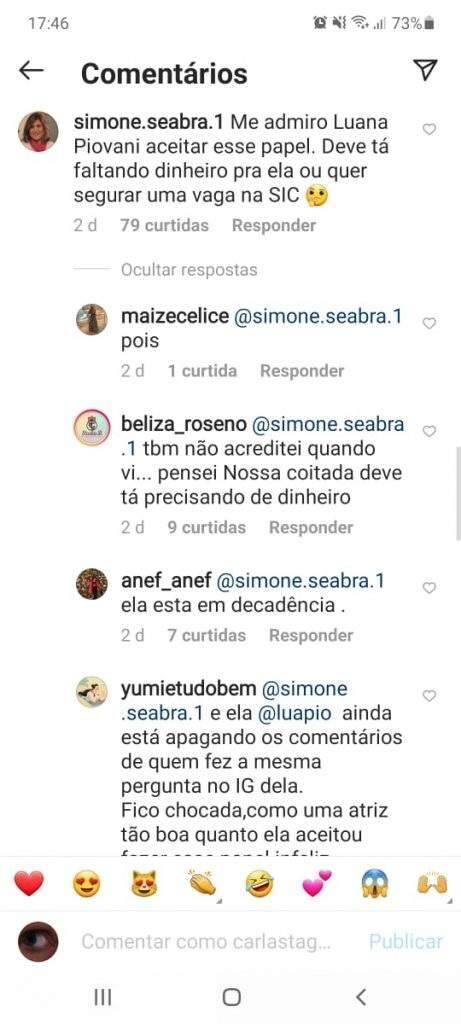 Luana Piovani participa de episódio de humor alvo de críticas por alimentar preconceitos. (Foto: Reprodução/Instagram)