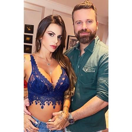 """Ex de Marlon fala da gravidez da atual do cantor: """"grávida de 6 meses, e 3 que ele saiu de casa, é amante sim"""". (Foto: Reprodução/Instagram)"""