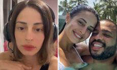 """Após boatos de separação, Tamy Contro, mulher de Projota, desabafa: """"Cansada"""""""