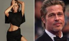 Rumores de namoro entre Jennifer Aniston e Brad Pitt aumentam depois de selfie da atriz
