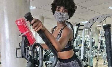 Erika Januza revela qual o exercício que menos gosta de fazer