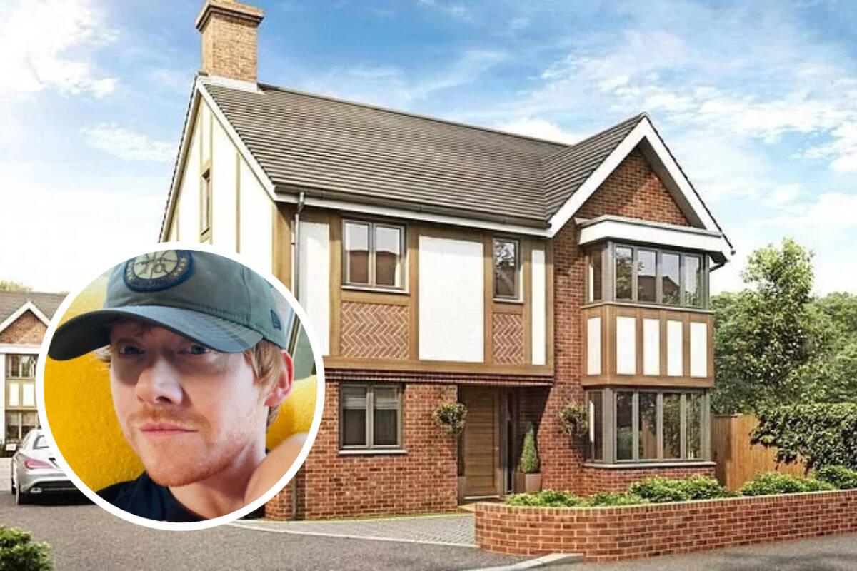 Ator Rupert Grint, de 'Harry Potter', coloca casas à venda por R$ 15 milhões