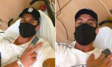 """Tiago Ramos, ex-padrasto do Neymar, é hospitalizado: """"Quase bati as botas"""""""