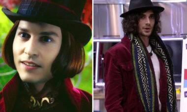 BBB 21: Fiuk é comparado ao 'Willy Wonka' na web e vira meme