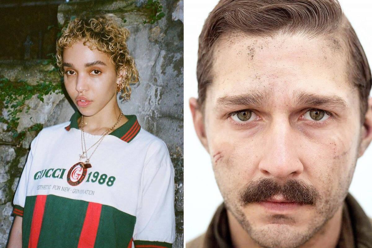 """FKA twigs revela que Shia LaBeouf atirou em cachorro de rua para """"entrar no personagem"""""""