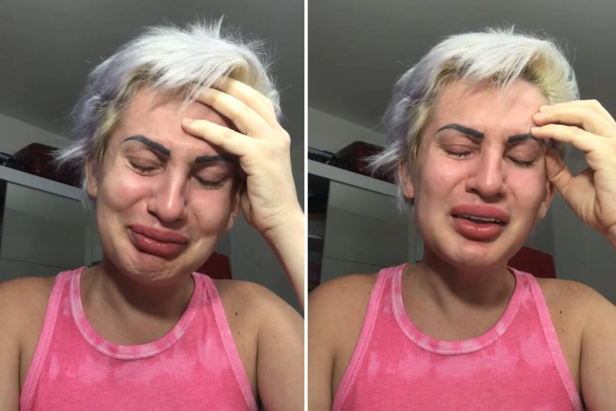 Romagaga perde perfil com 1,6 milhão de seguidores e posta vídeos chorando