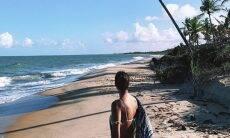 Débora Nascimento e Marlon Teixeira curtem viagem para Caraíva juntos