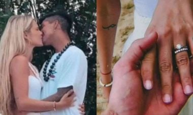 Gabriel Medina revela imagens do casamento com Yasmin Brunet no Havaí