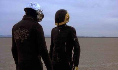 Daft Punk, dupla francesa de música eletrônica, se separa após 28 anos. Foto: Reprodução Youtube