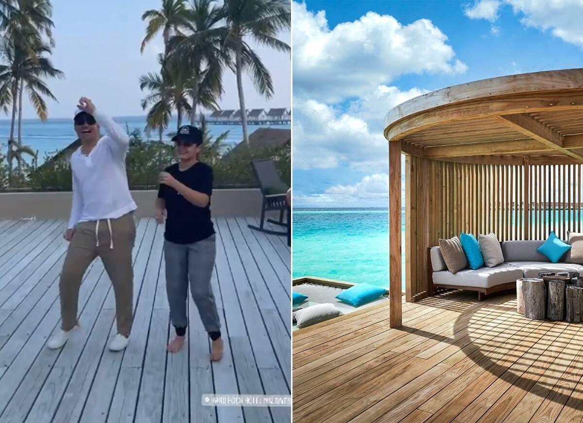 Noivos! Maiara e Fernando curtem resort na Maldivas com diárias de até R$ 29 mil (Foto: Reprodução/Instagram)