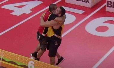 BBB 21: Arthur e Projota vencem a segunda prova do líder após mais de 6 horas de disputa