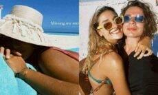 """Sasha Meneghel posa de biquíni em novo clique durante viagem ao México: """"saudade"""""""