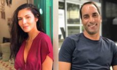Ex-jogador Edmundo leva nova namorada, 20 anos mais jovem, para conhecer a família