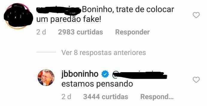 """BBB 21: Boninho se pronuncia sobre paredão falso: """"estamos pensando"""""""