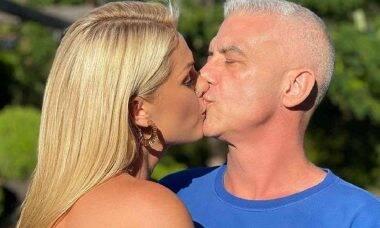 """Ana Hickamann celebra cura de câncer do marido Alexandre Correa: """"você é guerreiro"""""""