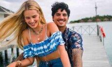 Recém casados, Gabriel Medina e Yasmin Brunet revelam nova integrante da família