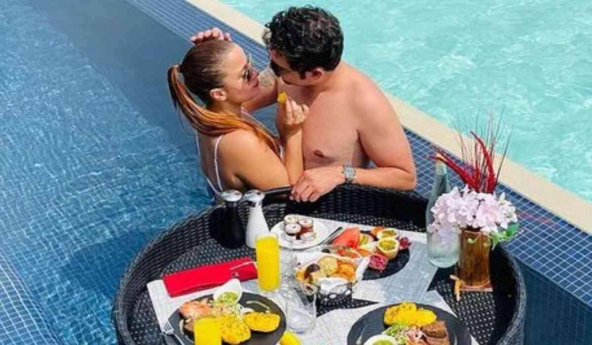 Noivos! Maiara e Fernando curtem resort na Maldivas com diárias de até R$ 29 mil