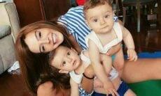 """Giovanna Lancellotti celebra aniversário dos irmãos gêmeos: """"o maior amor"""""""