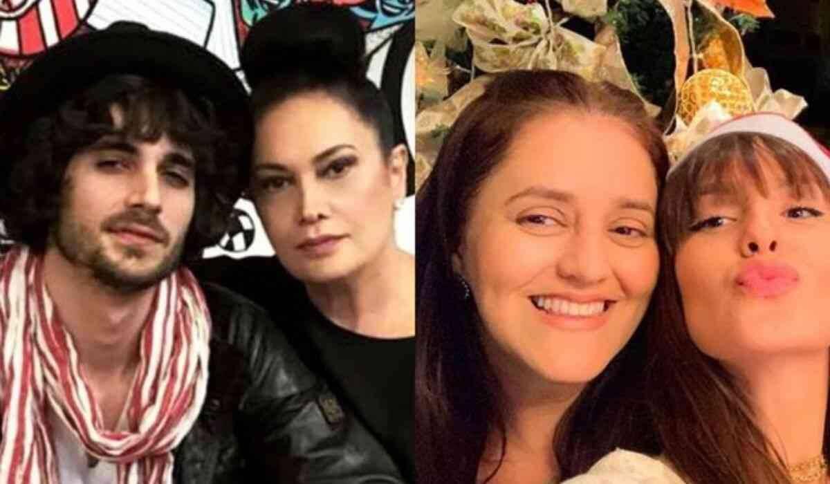 """Mãe de Fiuk presenteia mãe de Thais do BBB 21 com buquê de flores: """"estamos juntas"""""""