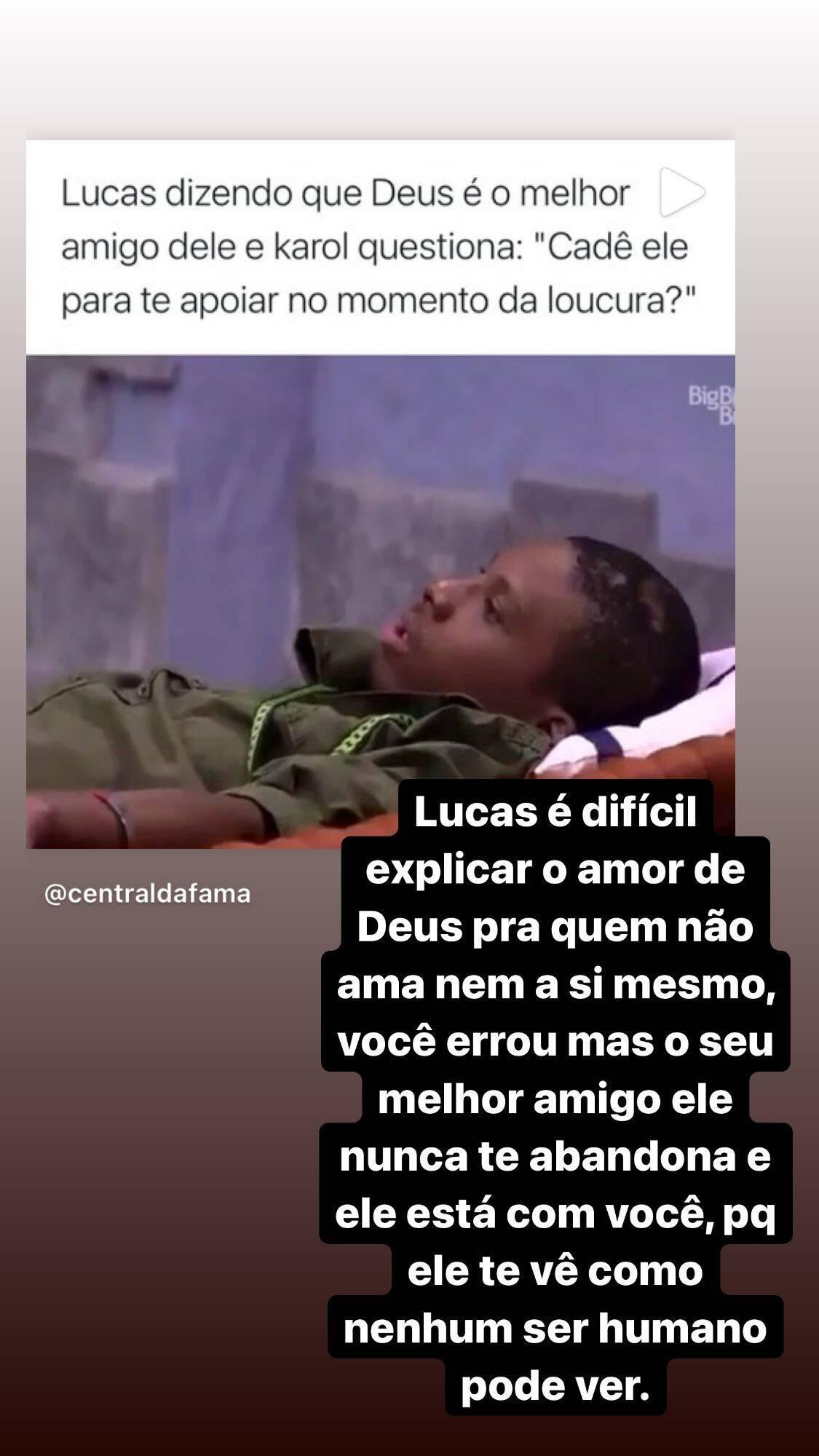 """Ludmilla critica Karol Conká no BBB 21 e revela: """"faço questão de fazer multirão pra ela sair"""" (Foto: Reprodução/Instagram)"""