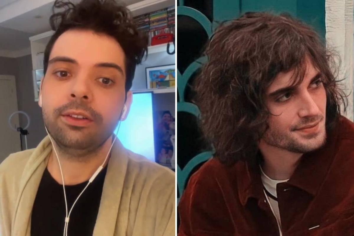 """Gustavo Mendes desabafa sobre participação de Fiuk no BBB 21: """"Se perdeu com a turma errada"""""""
